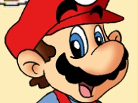Флеш игра Одень Марио