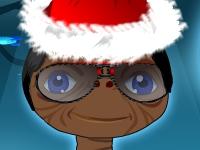 Флеш игра Одень чудика на Рождество