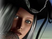 Флеш игра Одень девушку-пирата