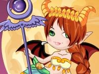 Флеш игра Одень дочку демона
