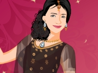 Флеш игра Одень индийскую девушку
