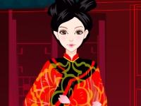 Флеш игра Одень китайскую принцессу