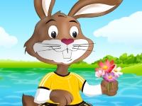 Флеш игра Одень кролика