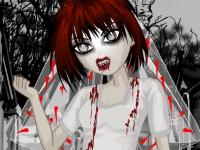 Флеш игра Одень невесту зомби