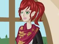 Флеш игра Одень обычную девушку 2