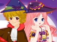 Флеш игра Одень пару на Хэллоуин
