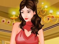 Флеш игра Одень принцессу в Новый Год