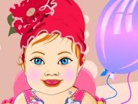 Флеш игра Одень пухленькую девочку