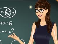 Флеш игра Одень учителя
