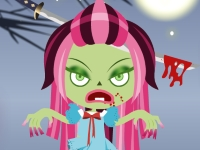 Флеш игра Одень зомби-куклу