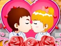 Флеш игра Офисные поцелуи