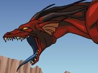 Флеш игра Огнедышащий дракон