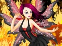Флеш игра Огненная фея