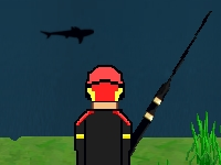 Флеш игра Охота на акул