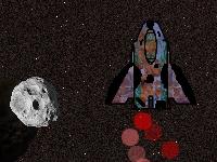 Флеш игра Охота на астероиды
