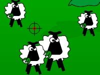 Флеш игра Охота на овец