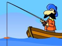 Флеш игра Охота на рыбу
