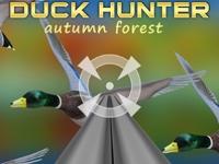 Флеш игра Охота на уток: Осенний лес