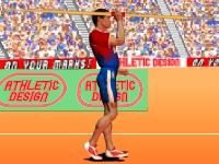 Флеш игра Олимпийские игры: Метание копья