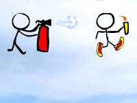 Флеш игрушка Олимпийский огонь