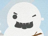 Флеш игра Омг, снеговик!