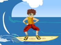 Флеш игра Опасный серфинг