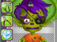 Флеш игра Операция для монстра и зомби