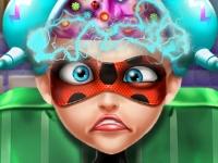Флеш игра Операция на мозге Леди Баг