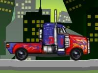 Флеш игра Оптимус Прайм: Доставка грузов
