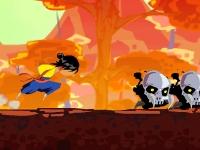 Флеш игра Осень самурая