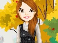 Флеш игра Осенняя мода