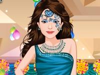 Флеш игра Особый макияж на день рождения