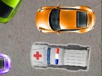Флеш игра Освободи проезд для скорой помощи