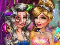 Флеш игра От ведьмы к принцессе