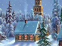 Флеш игра Отличия на зимних пейзажах
