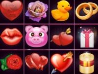 Флеш игра Отличия наборов на День Святого Валентина