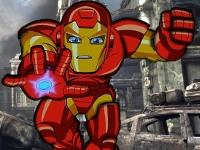 Флеш игра Отряд супергероев: Железный Человек