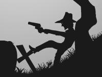 Флеш игра Отстрел зомби