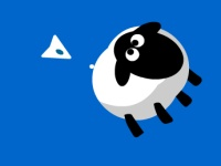 Флеш игра Овцы - астероиды