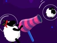 Флеш игра Овцы против инопланетян 2: Невесомость