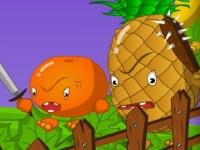 Флеш игра Овощи против фруктов