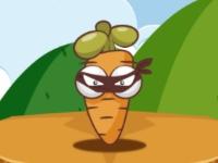 Флеш игра Овощные ниндзя
