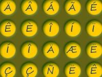Флеш игра Падающие буквы