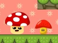 Флеш игра Падение гриба