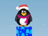 Флеш игра Падение пингвина