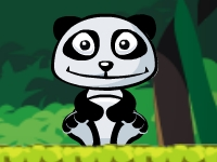 Флеш игра Панда хочет апельсин