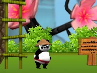 Флеш игра Панда - самурай