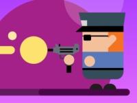 Флеш игра Парень с пушкой против зомби