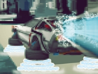 Флеш игра Парковка авто в будущем