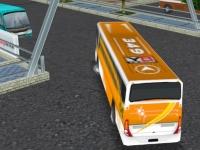 Флеш игра Парковка автобуса 2